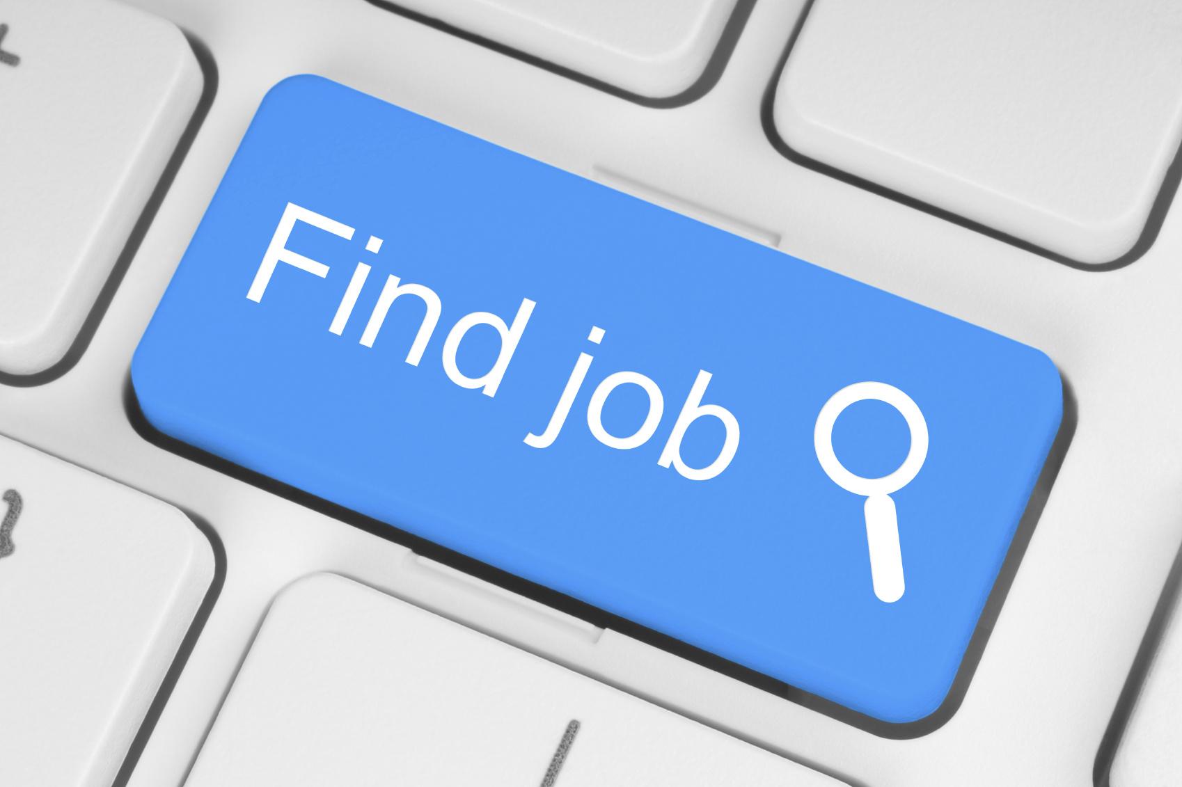 Find Job Computer Button